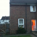 1.Existing rear of property, Longstanton