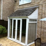 2.Existing rear conservatory, Over