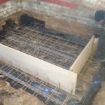 2.New structual floor, garage conversion, Over