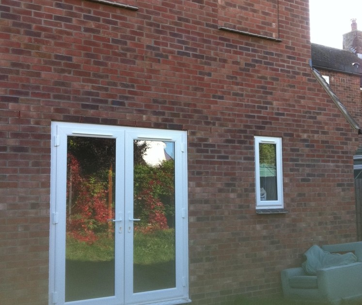 3.Finished rear extension, Longstanton