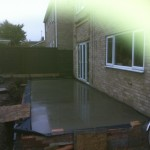 3.Foundation slab to rear extension, Over
