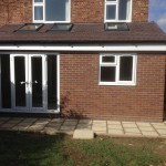 3.Outside complete, rear extension, Cambridge