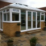 Conservatory and patio areas, Haddenham
